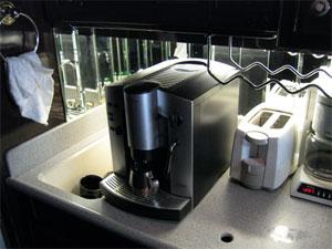 czech airport bus coffee